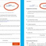 Google Page Speed score improvement