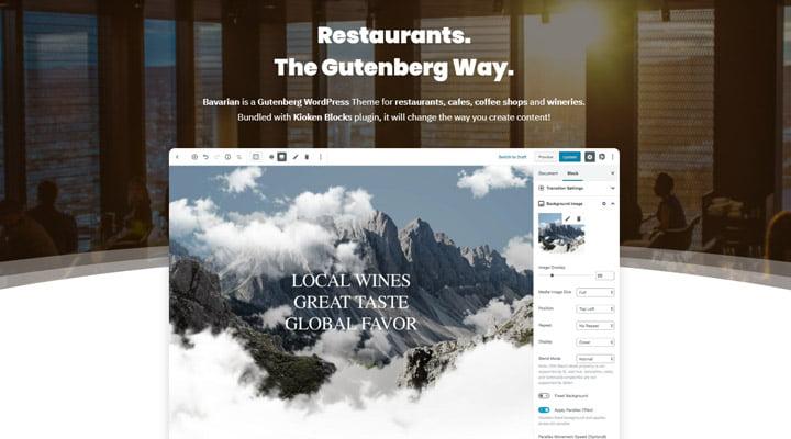 Bavarian-WordPress-theme