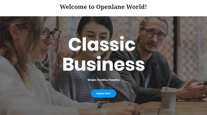 Openlane-Gutenberg-theme
