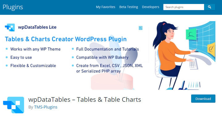 wp-data-tables