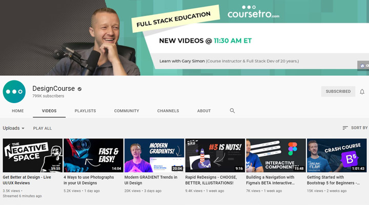 Design-Course-YouTube-channels-for-developers
