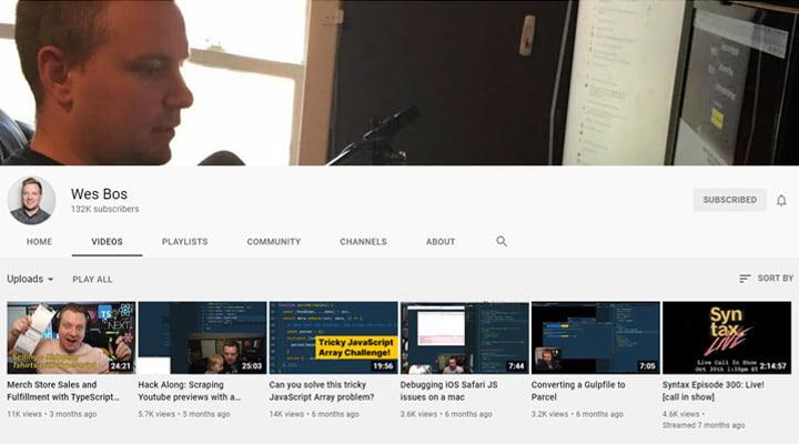 Wes-Bos-coding-YouTube